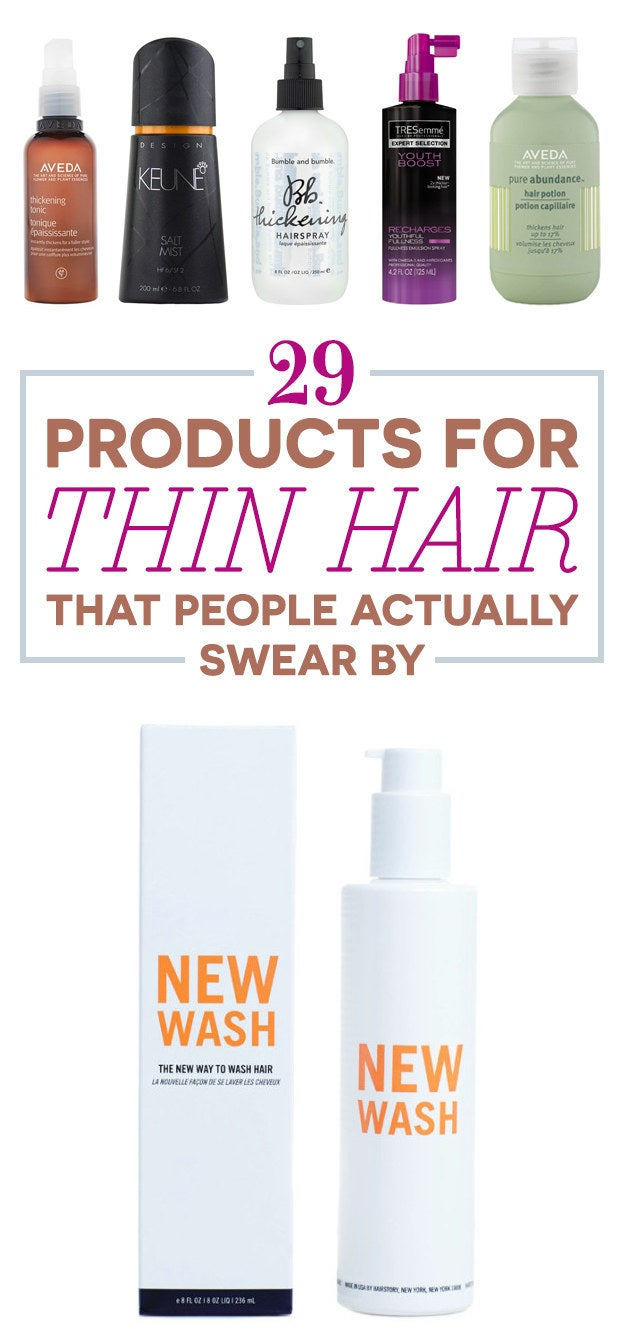 29 products that make thin hair look super thick