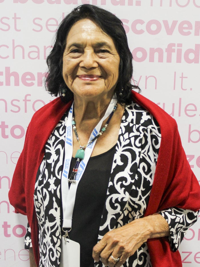 """""""And we did. 1.4 million farmworkers got their legalization status, and about 3 million other people did. Si se puede!"""" – Dolores Huerta, labor leader and civil rights activist who was the co-founder of the National Farmworkers Association, which later became the United Farm Workers"""