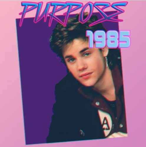 """His best work (so far) is this 1985 version of Justin Bieber's song """"What Do You Mean?"""""""