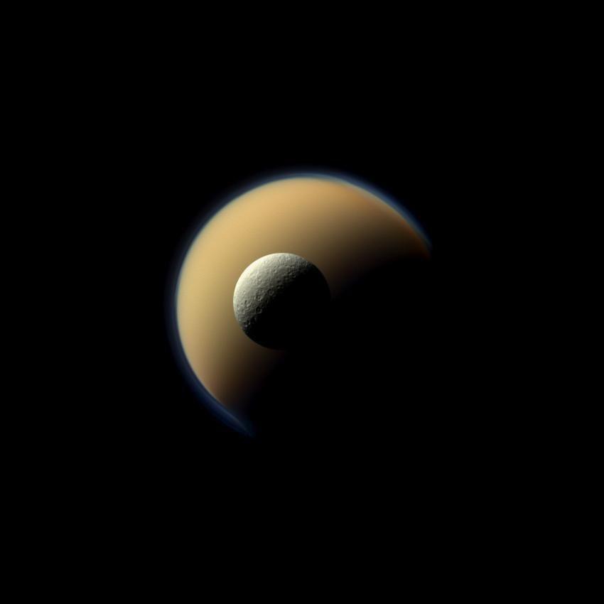 16. Titan und Rhea.