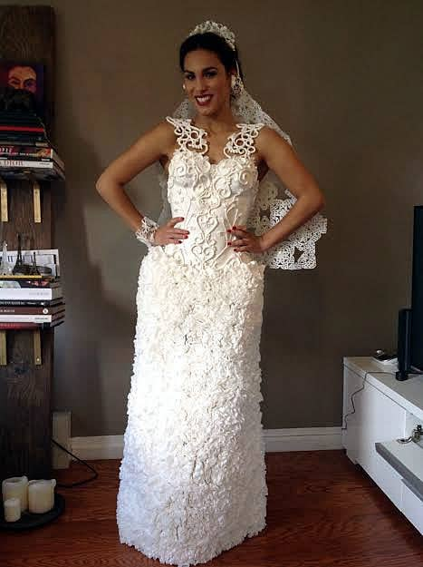 Ok These Toilet Paper Wedding Dresses Are Actually Like Really Pretty