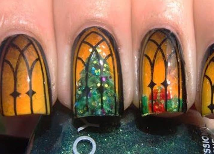 21 Examples Of Stunning Nail Art That Will Put Your Skills To Shame