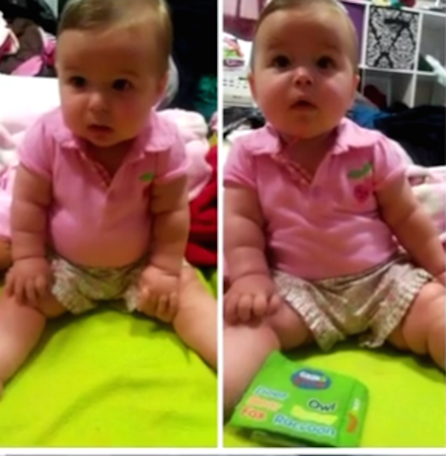 The video soon spread through the community, and was shared 5,000 times. It eventually made its way to the baby's mother, Brittany Dixson, who said she was horrified to realize the child was her daughter Annora.