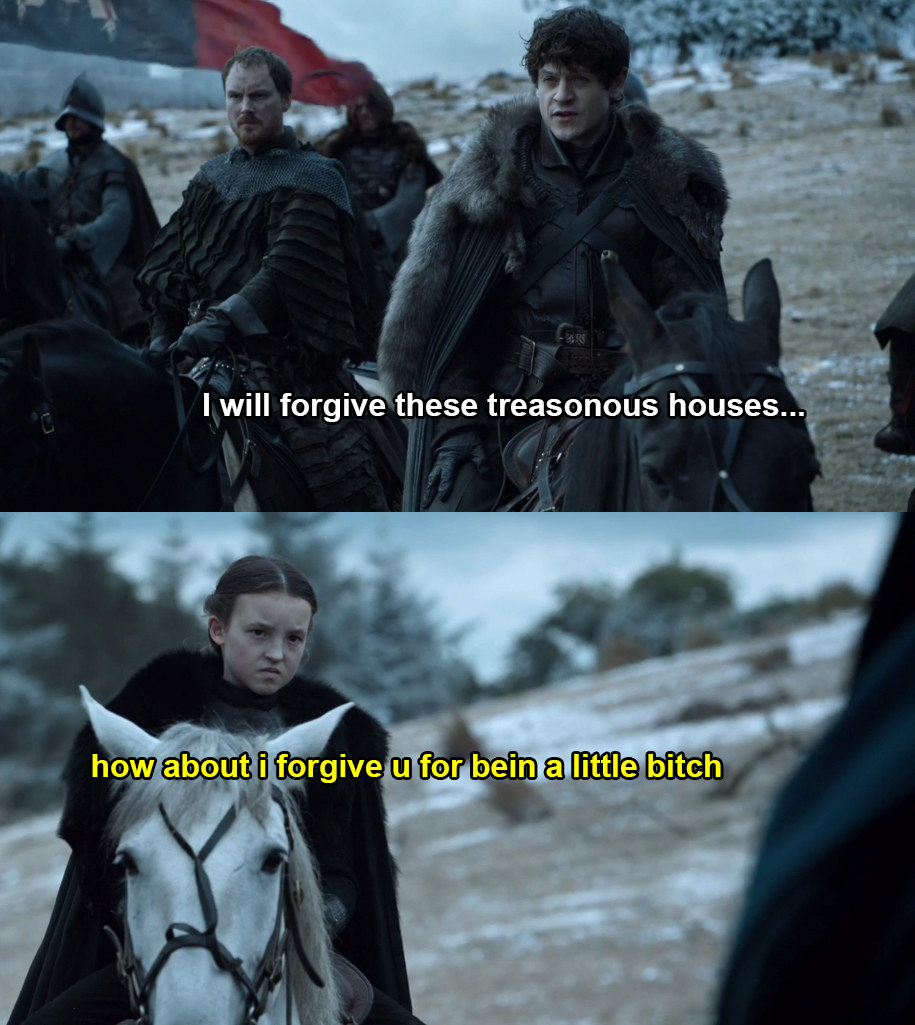 "73 Thoughts I Had Watching This Week's ""Game Of Thrones,"" Including ""Bye Felicia"""
