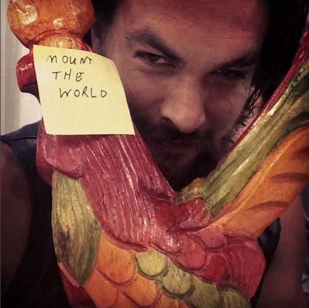 "Jason Momoa Instagram: Jason Momoa's Message To Drogon On ""Game Of Thrones"" Is"