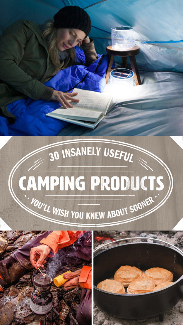 30 Insanely Useful Camping Products You Ll Wish You D
