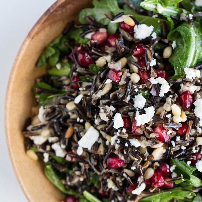 This grain salad is pretty enough to impress, and it's so easy to make!