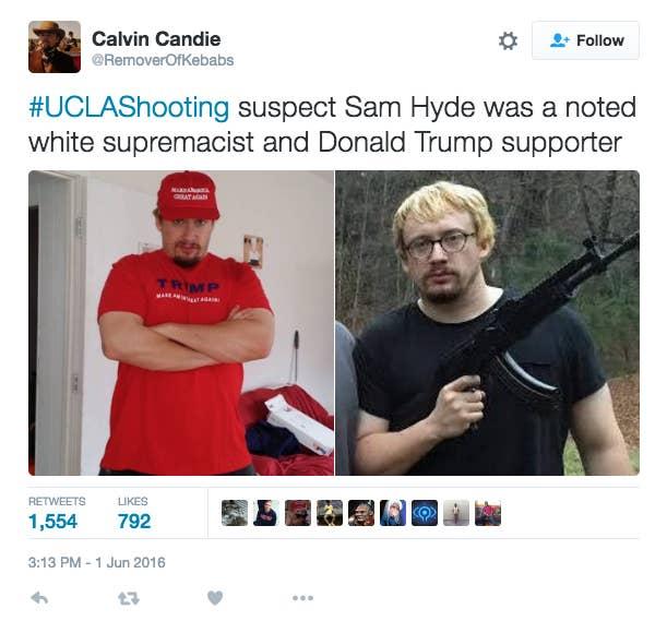 Image result for sam hyde shooter meme