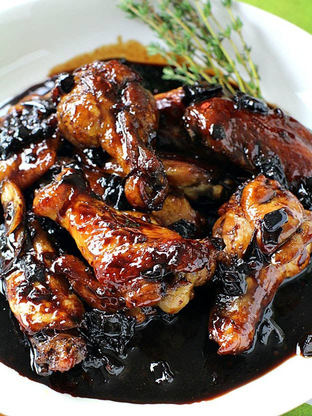 27 mouthwatering chicken wings youll never have to order out for red wine sticky chicken wings forumfinder Images