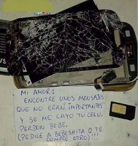 Y este celular.