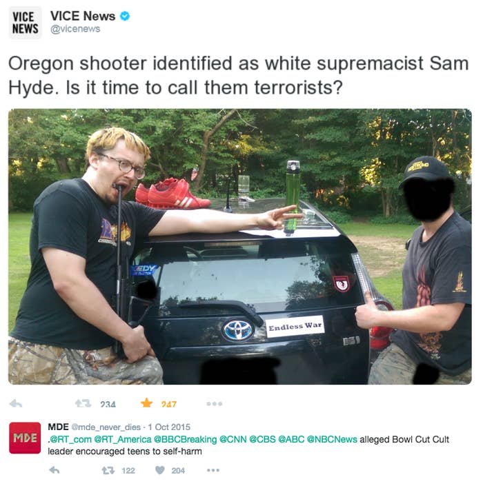 Don T Believe Any Breaking News That Names This Comedian As A Mass Shooter Sam hyde was a minor celebrity, who had a show on mainstream television, and he was not at all aggressive on twitter. buzzfeed