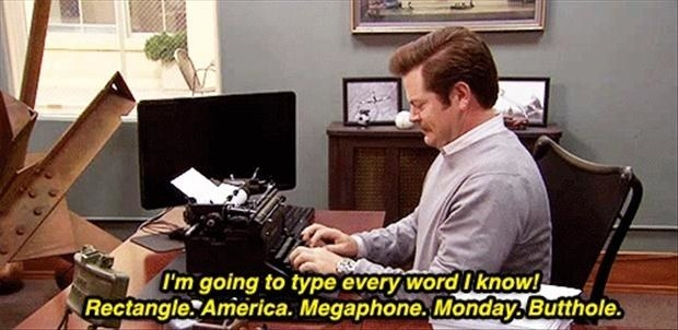 Ron Swanson from Parks and Recreation is America's true hero.