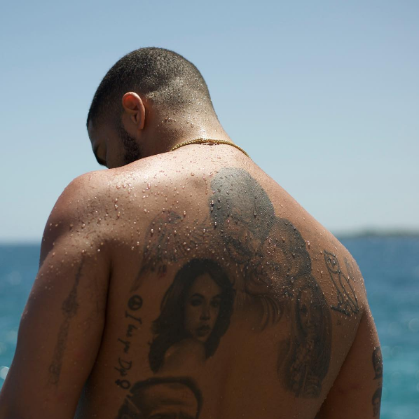 Drake in a bathing suit is exactly what you need to see today for Drake new tattoo