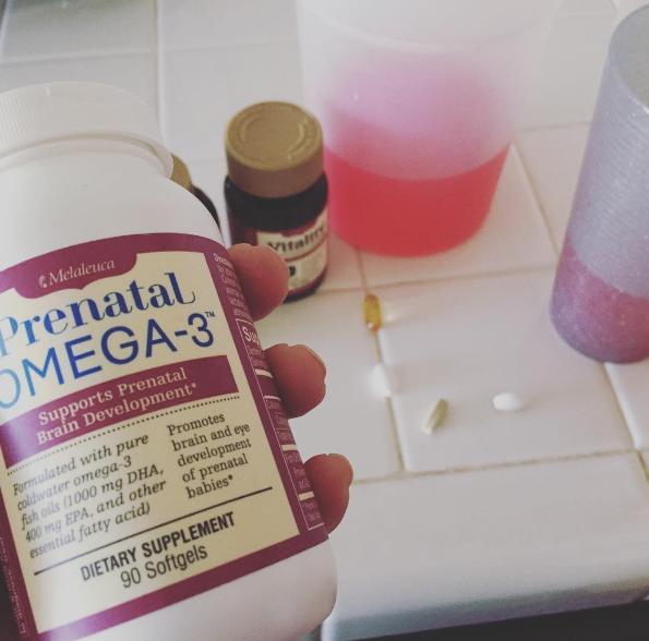 Se te olvidó tomarte tus vitaminas prenatales.