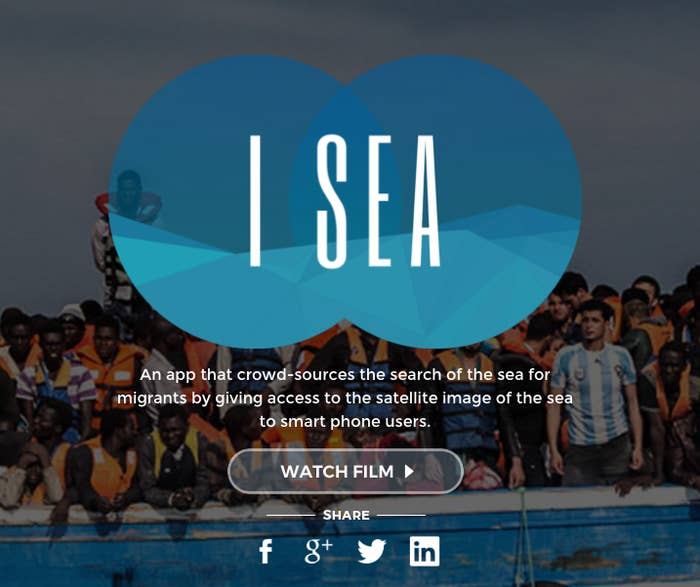 """The I Sea app was released last week and garnered positive coverage from Reuters, Wired, and other media outlets. The app was developed by Grey For Good, the philanthropic arm of the Singapore-based advertising agency Grey Group. The developers claimed that live satellite imagery of the Mediterranean was divided into small """"plots,"""" then sent to individual app users who could scan the waters for any ships that might be in trouble."""