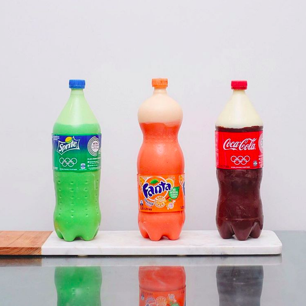 These Cakes That Look Like Soda Bottles Are Really Damn Cool
