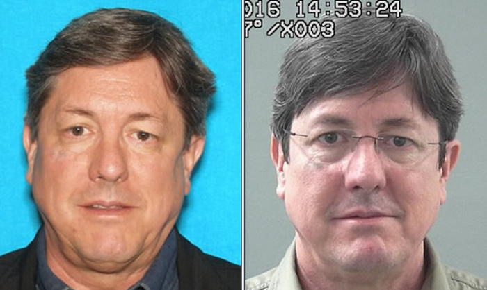 Lyle Jeffs appears in police booking photos provided by the FBI.