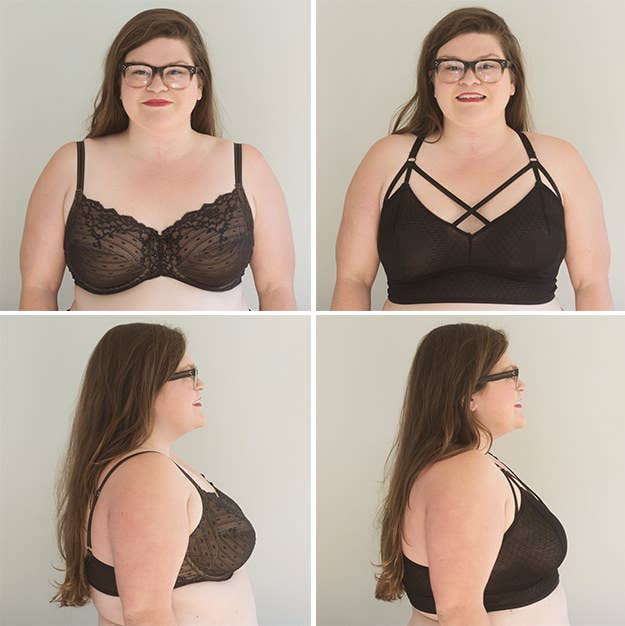 145dab0dfd We Wore Bralettes With Our Big Boobs For A Week And Here s How It Went