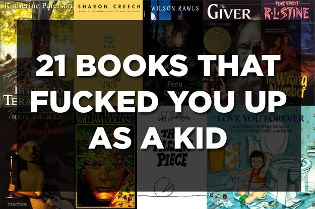 21 Books That Fucked You Up As A Kid
