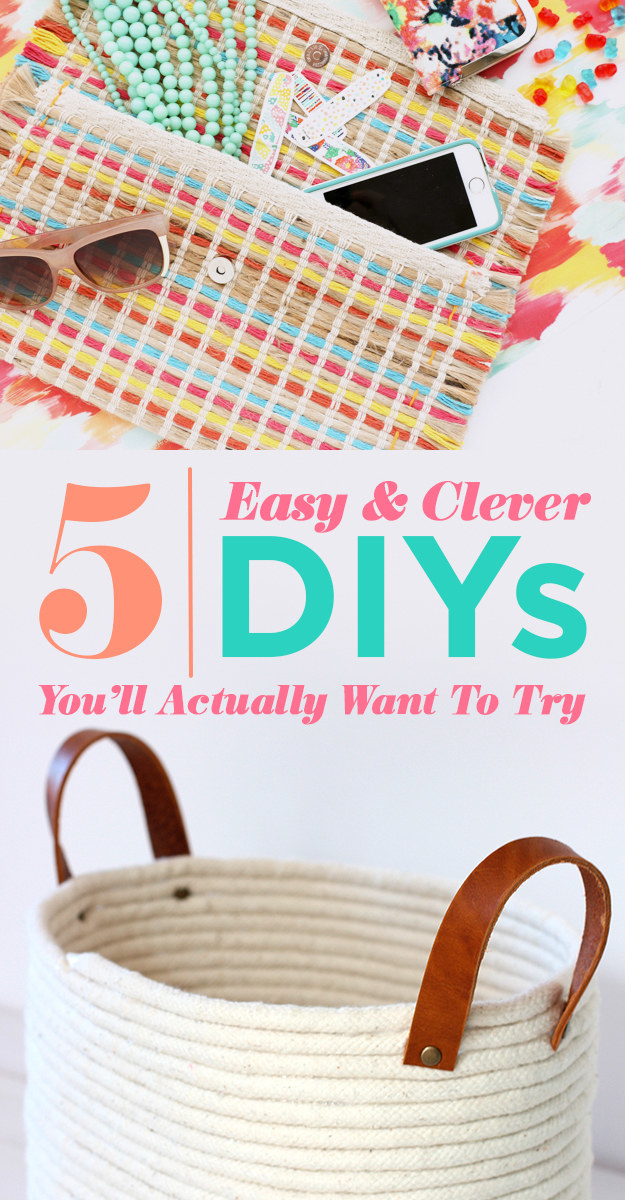 5 Insanely Clever DIYs That Are Actually Easy