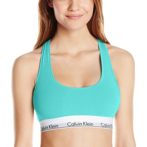 A mega comfy Calvin Klein weekend bra that might become your new favorite.