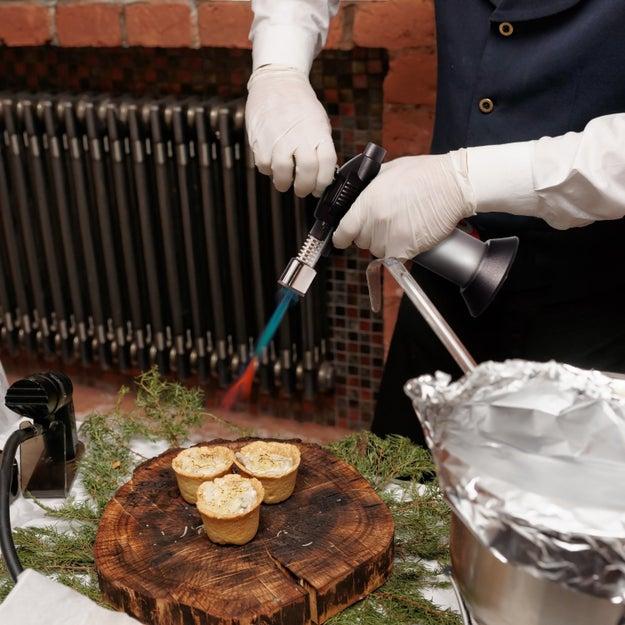 A mini culinary torch so you can make homemade creme brûlée.