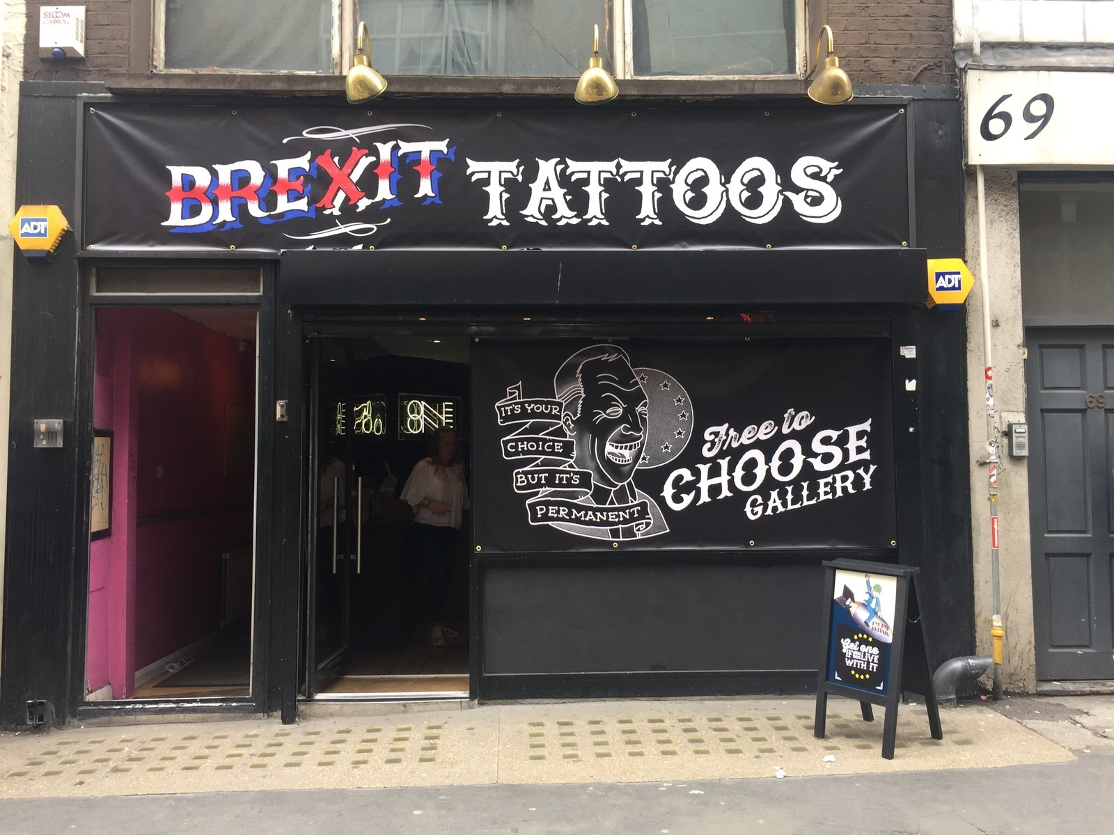 People Are Getting Tattoos To Mark The EU Referendum