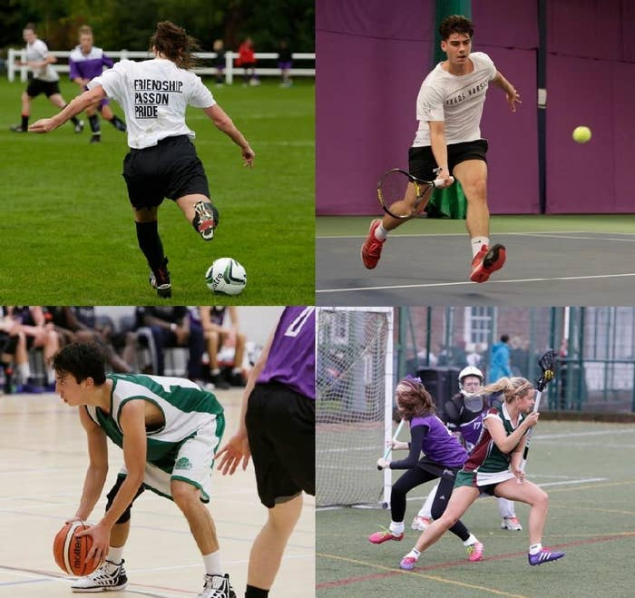 Last year there were a whopping 64 fixtures in total! Sport takes over campus for a day and spreads out in to the wider community. There's a distinct Varsity Buzz in the air!
