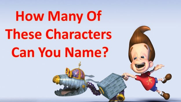 Can You Name These Jimmy Neutron Characters?