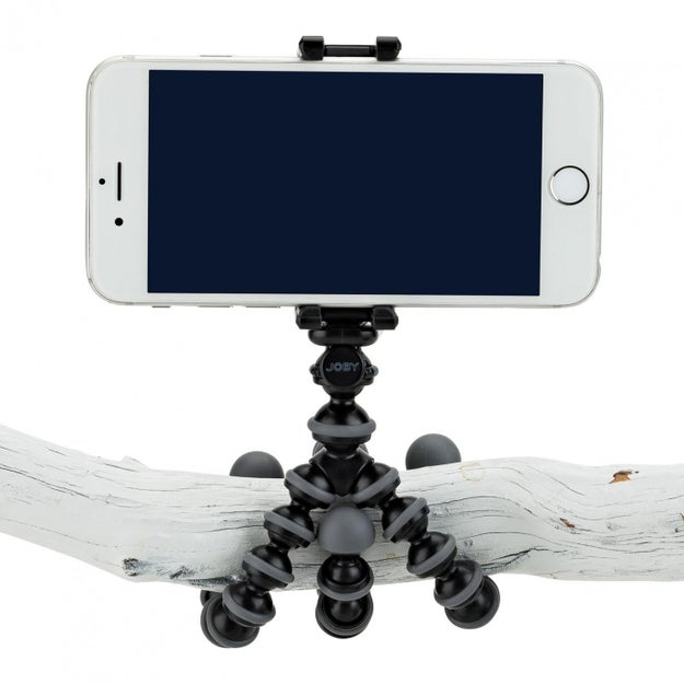 The GripTight GorillaPod phone stand ($17) is a portable tripod with flexible legs.
