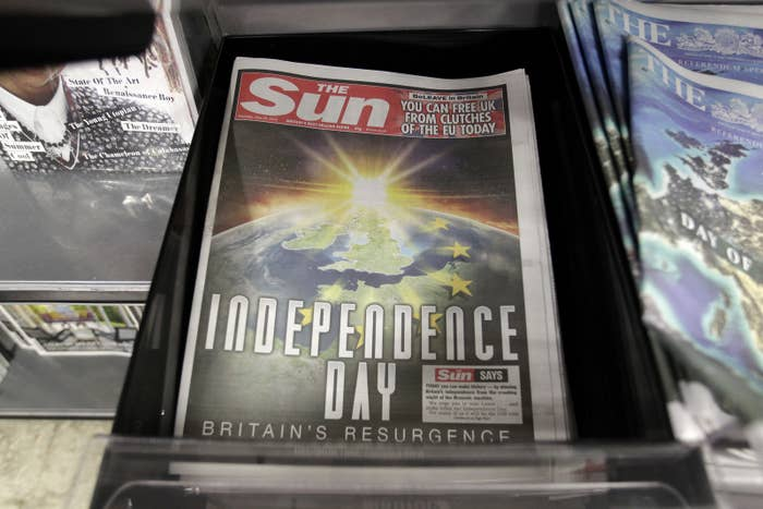 No Independence Day sequel expected in Europe. Yet. (AP Photo/Tim Ireland)