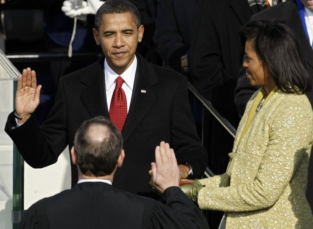 President Barack Obama made history when he became the first black man to ever be elected as president of the United States in 2008.