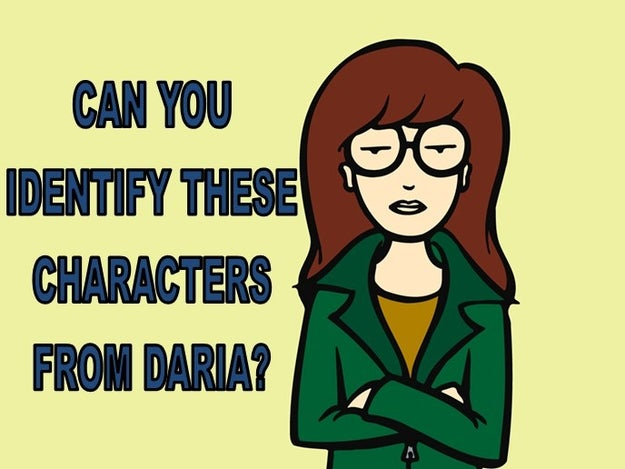 "Do You Remember The Names Of These ""Daria"" Characters?"
