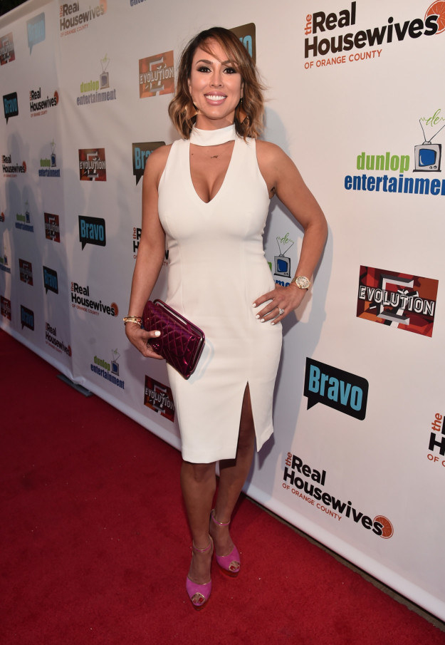 5. Kelly Dodd at The Real Housewives Of Orange County 10 year celebration