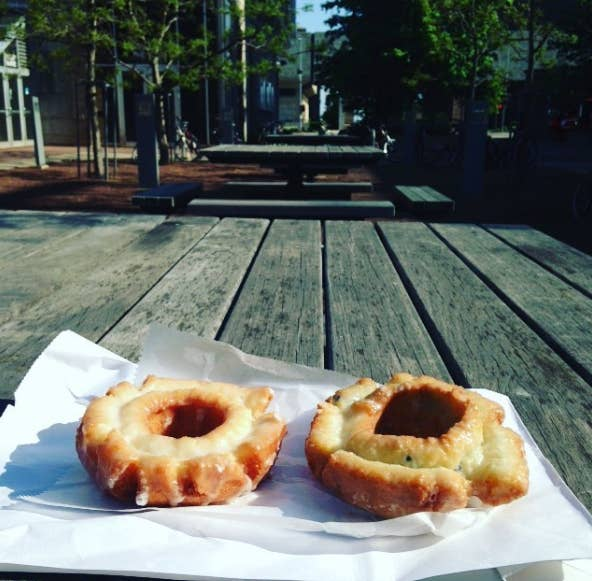These little unassuming donuts are absolutely exquisite. That's all you need to know. Just kidding. You also need to know that their apple fritter is equally as exquisite. They put their fresh donuts out around 5 p.m., so that's usually the best time to stop by.