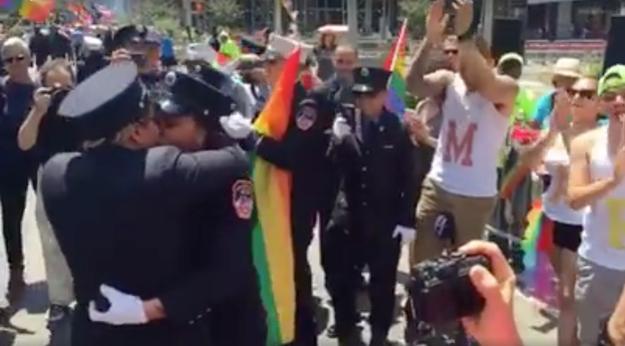 Two Paramedics Got Engaged At NY Pride And It Was So Damn Cute