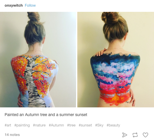 People Have Been Sharing Some Pretty Incredible Pieces Of Back Art On Tumblr And Twitter For