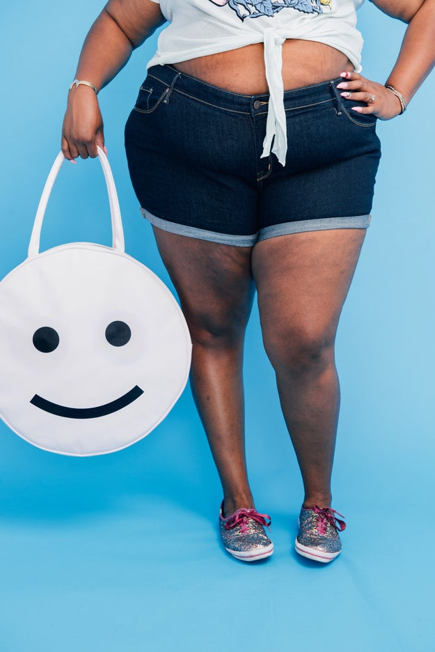 This smiley face cooler bag: