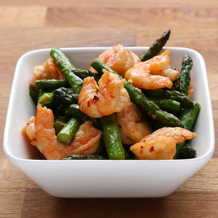 This healthy shrimp and asparagus stir fry is under 300 calories its healthy and delicious ccuart Gallery