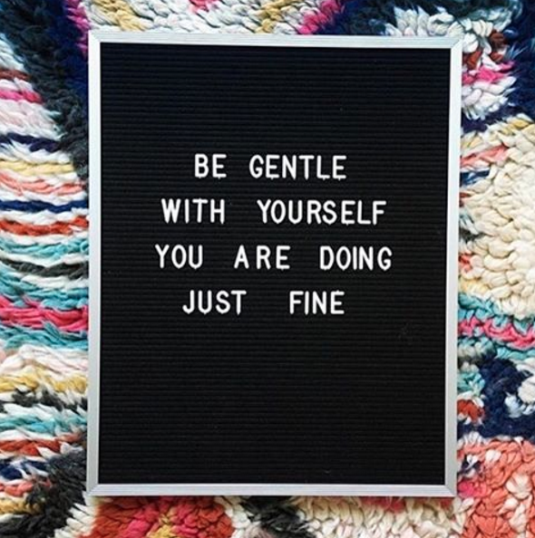 Be kind to yourself and pause for self-care when you need it.