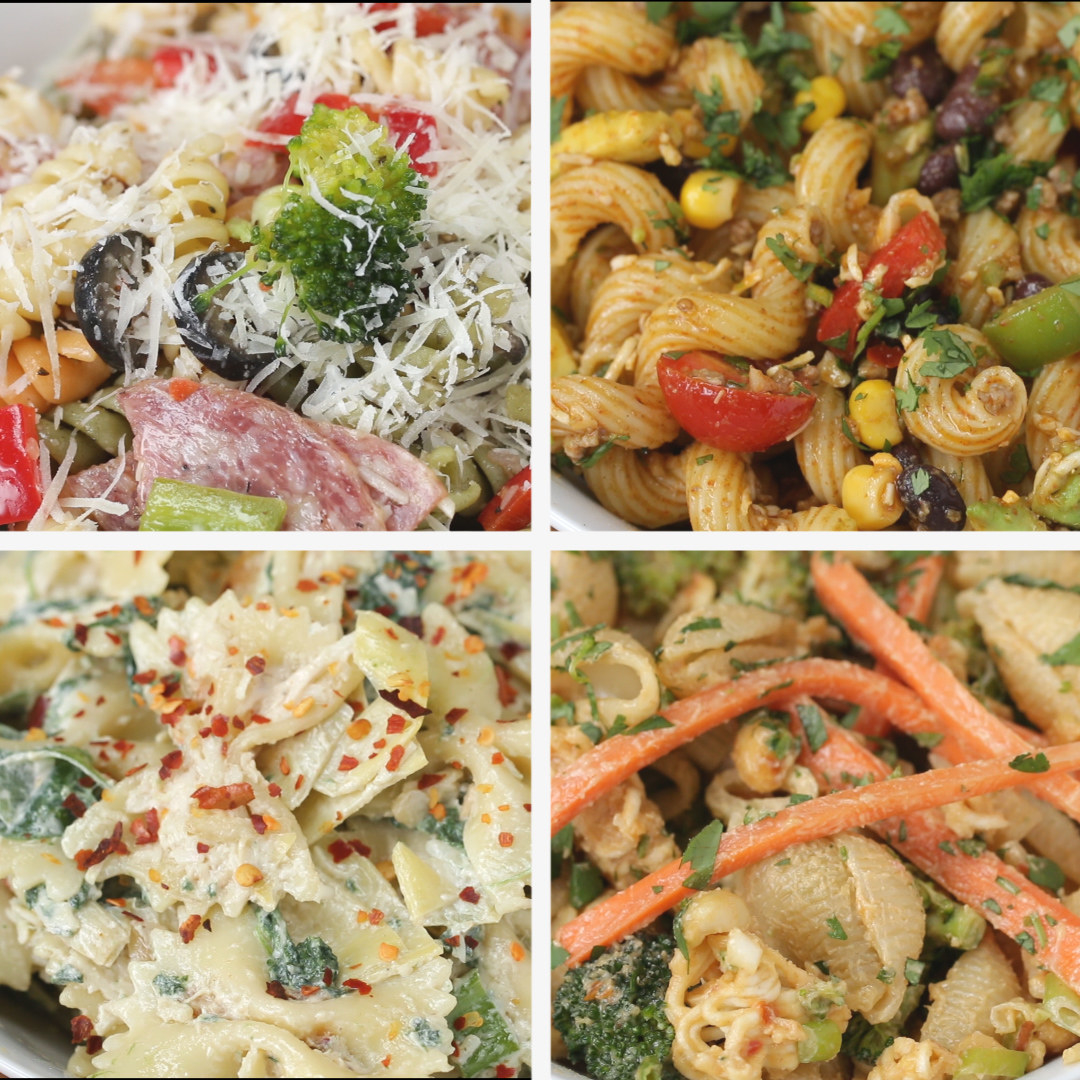 Here Are Four Ways You Can Make Bomb Pasta Salad