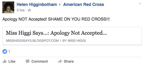 «Nous exprimons nos plus sincères excuses pour tout malentendu, car il n'était nullement dans nos intentions d'offenser qui que ce soit», a répondu la Croix-Rouge américaine dans un communiqué.