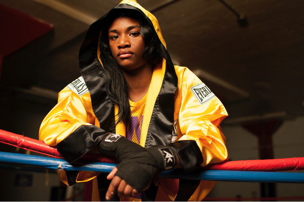 This is 21-year-old Flint, Michigan native Claressa Shields, and she is a complete and total badass.