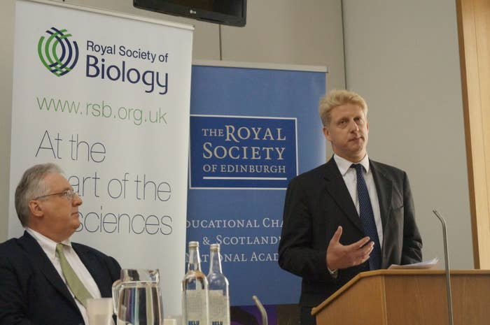 Jo Johnson, the universities and science minister.