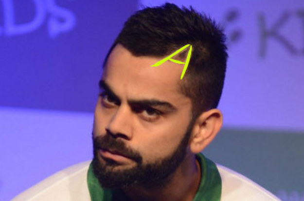 Virat Kohlis Hair Game Is Too Fucking Strong For Your Questions