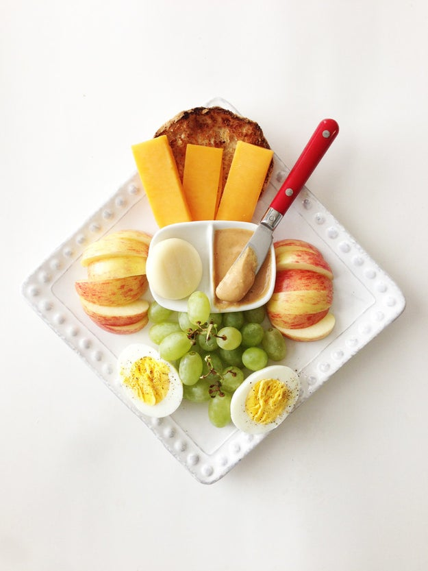 Make your own bistro box aka adult Lunchable.