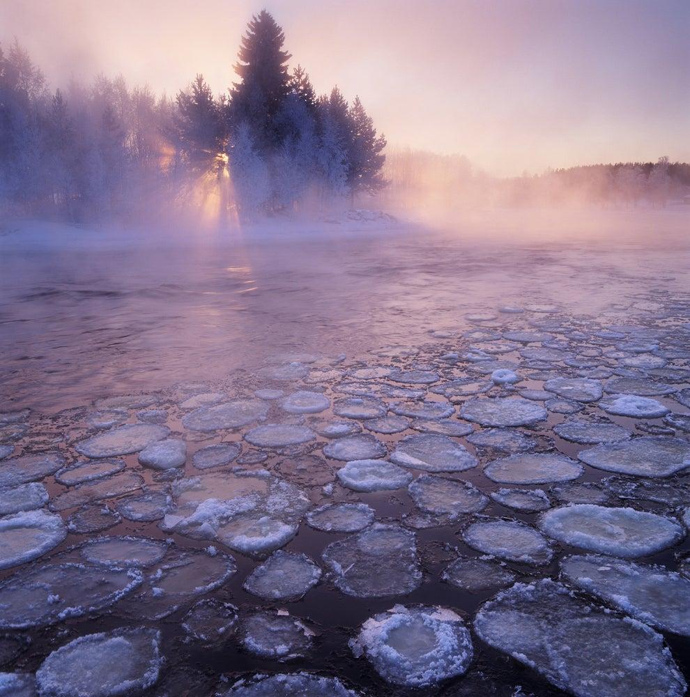 El río Voxnan, en Suecia.