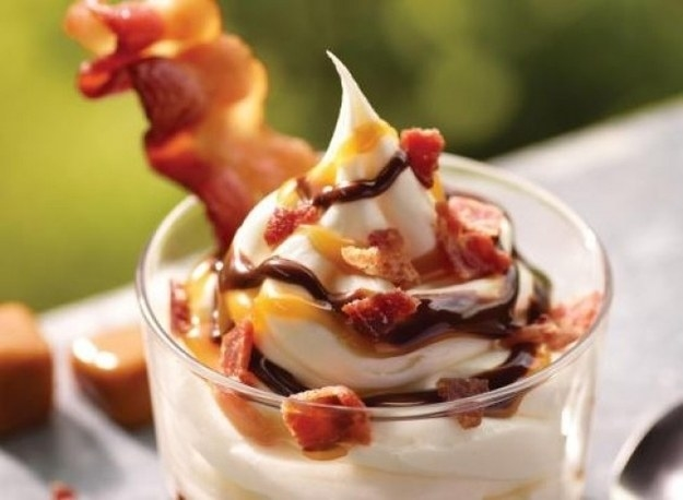 And when Burger King released a bacon sundae.