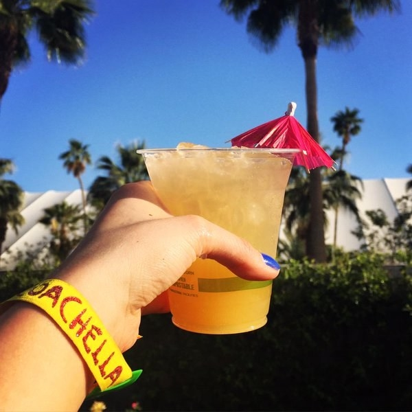 Drinks at festivals according to Instagram: