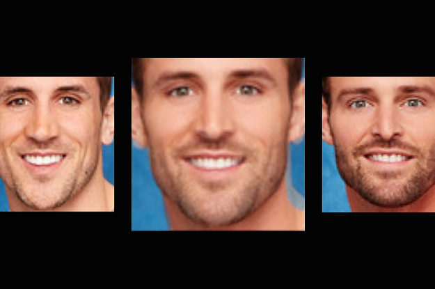 """I Face Morphed """"The Bachelorette"""" Guys Into One Person And He's"""